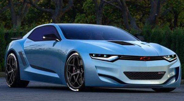 2016 Chevrolet Camaro-front