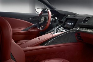 2015 Acura NSX Interior