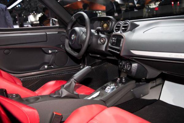 2015 - Alfa Romeo 4C Interior