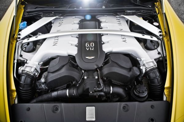 2015 Aston Martin Vantage Engine