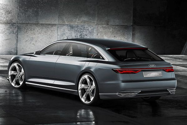 2015 - Audi Prologue Avant Rear View