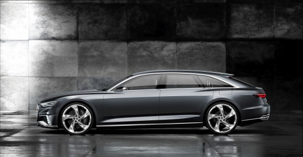 Audi prologue Avant Side View
