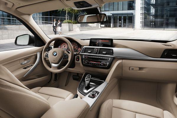 2015 - BMW 328d Sedan Interior