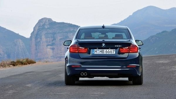 2015 - BMW 328i Sedan Rear View