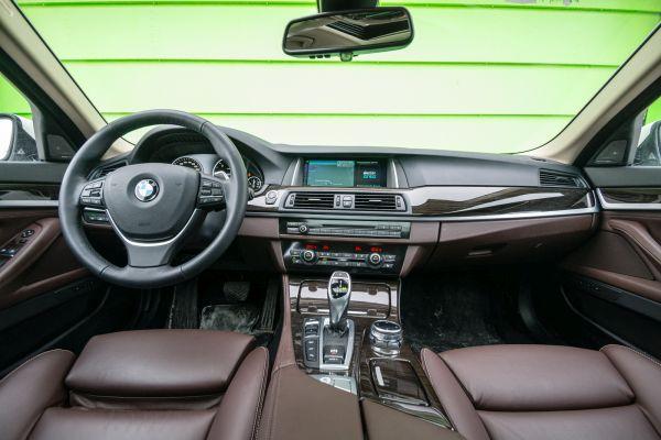 2015 - BMW 535d Interior