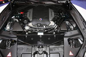 2015 BMW Alpina B6 xDrive Gran Coupe Engine