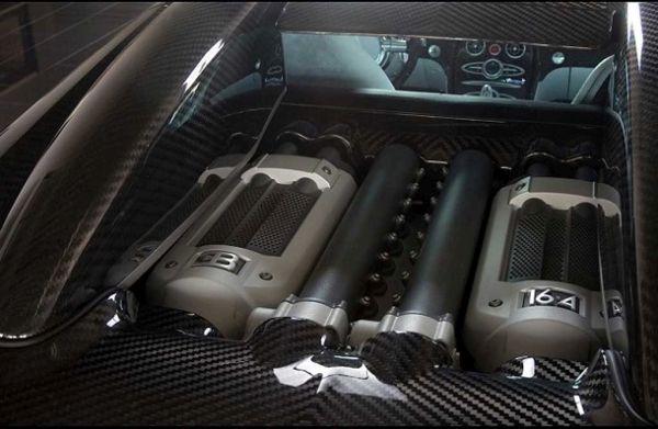 2015 - Bugatti Veyron Engine