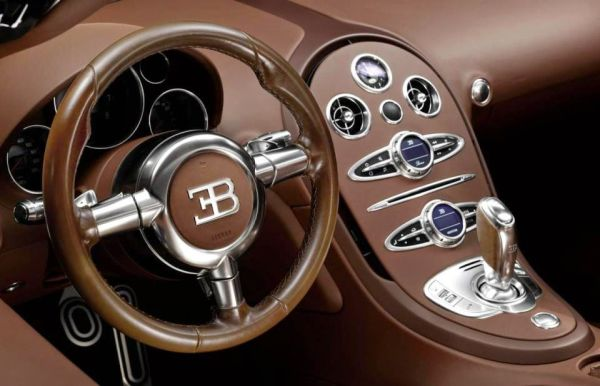 2015 - Bugatti Veyron Interior