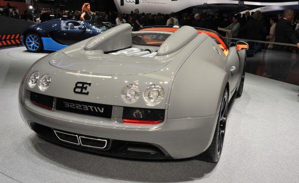 2015 Bugatti Veyron Rear View