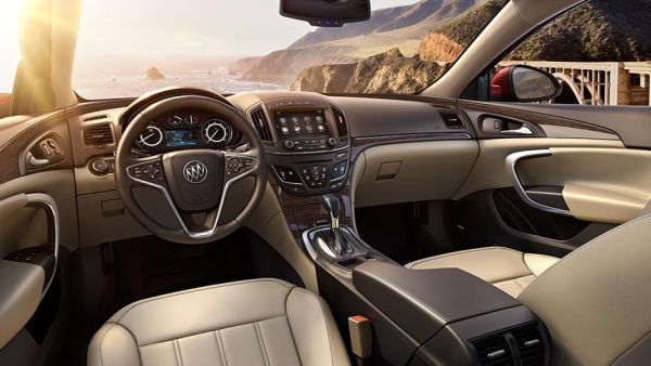 2015 - Buick Regal GS Interior