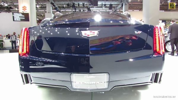 2015 Cadillac Elmiraj Rear View