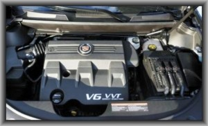 2015 Cadillac SRX Engine