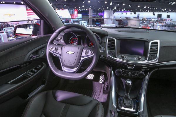 Chevrolet SS 2015  Interior