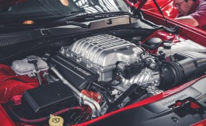 2015 Dodge Charger SRT Hellcat Engine