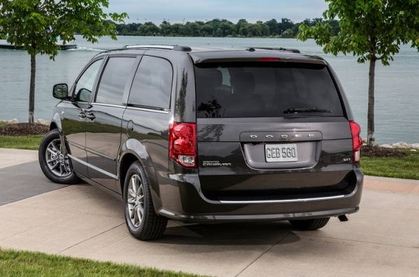 2015 - Dodge Grand Caravan  Rear View
