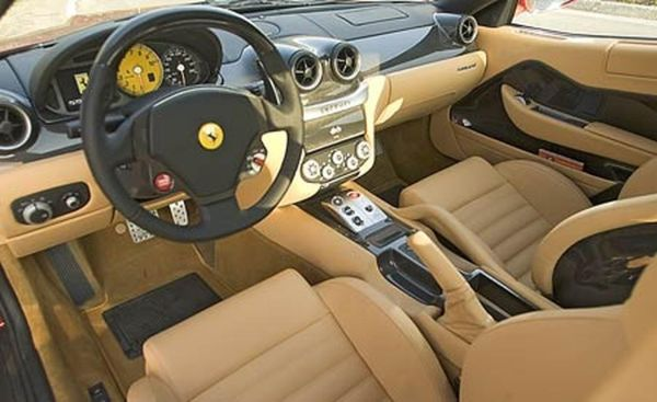 2015 - Ferrari GTO Interior