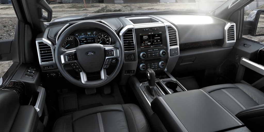 2015 Ford F-150 Platinum Interior