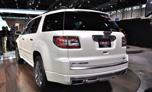 2015 - GMC Acadia Denali  Rear View