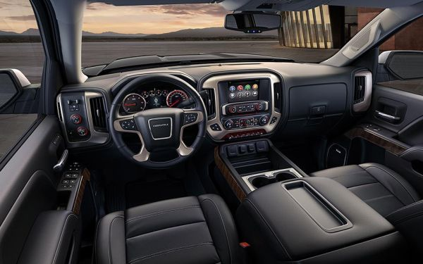2015 - GMC Sierra 1500 Denali Interior