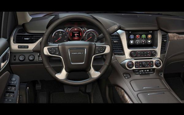 2015 GMC Yukon XL Denali interior