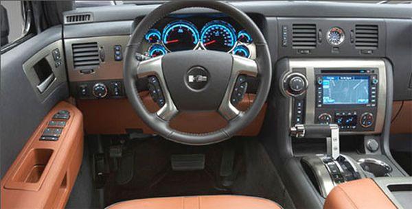 2015 Hummer H4 Interior