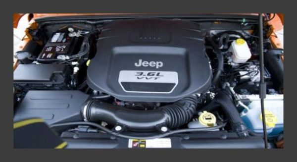 2015 Jeep Wrangler Engine