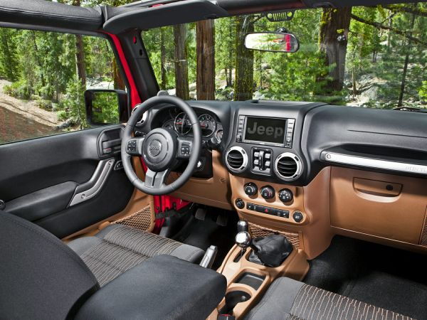 2015 Jeep - Wrangler Unlimited X Edition Interior
