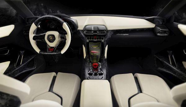 2015 - Lamborghini Urus Interior