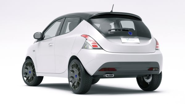 Lancia Ypsilon 2015  Rear View