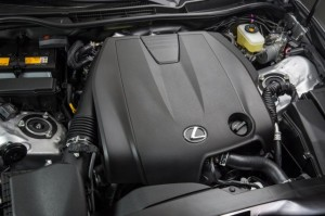 2015 Lexus IS Engine