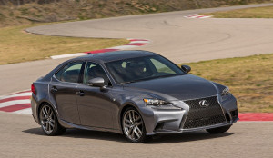 2015 Lexus IS Exterior