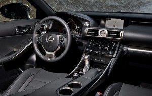 2015 Lexus IS Interior