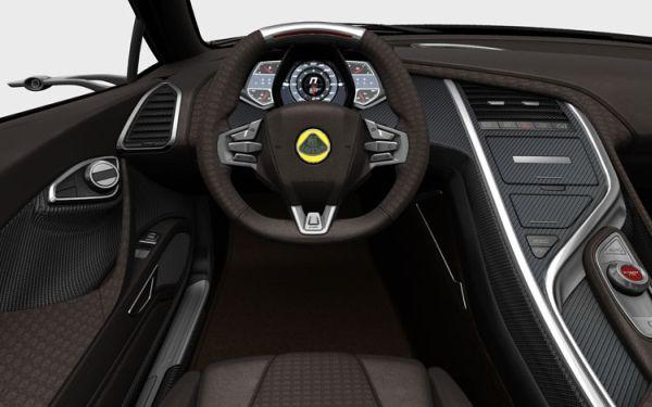 Lotus Elise 2015  Interior
