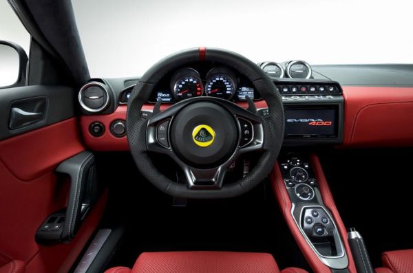 2015 - Lotus Evora 400 Interior