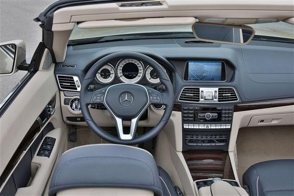 2015 - Mercedes - Benz E-Class Cabriolet Inteirior