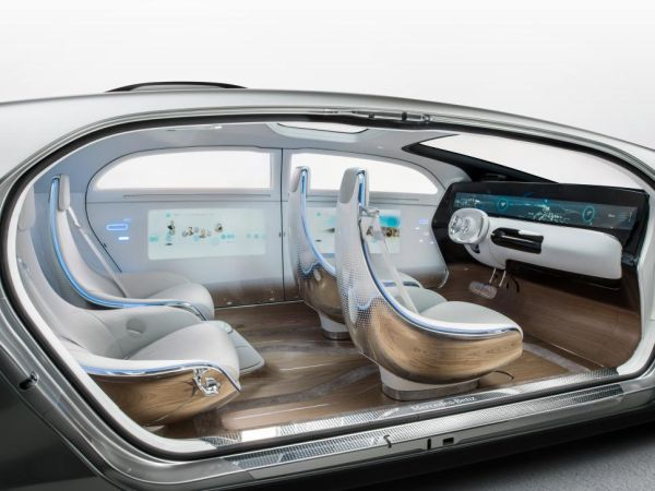 Mercedes-Benz F 015 2017 Interior