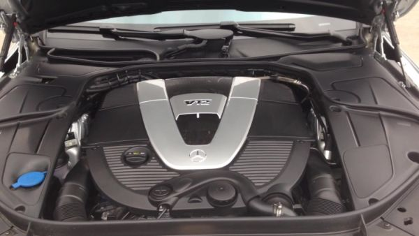 2015 Mercedes - Maybach S600 Engine