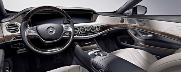 2015 - Mercedes Maybach S600 Interior