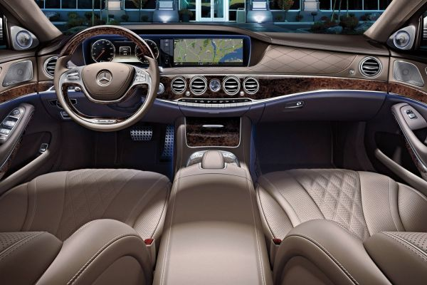2015 Mercedes S Class Sedan Interior