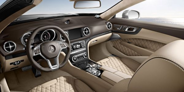 2015 - Mercedes SL-Class Roadster Interior