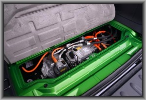 2015 Mercedes Smart ForTwo Electric Engine