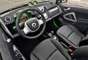 2015 Mercedes Smart ForTwo Electric Interior