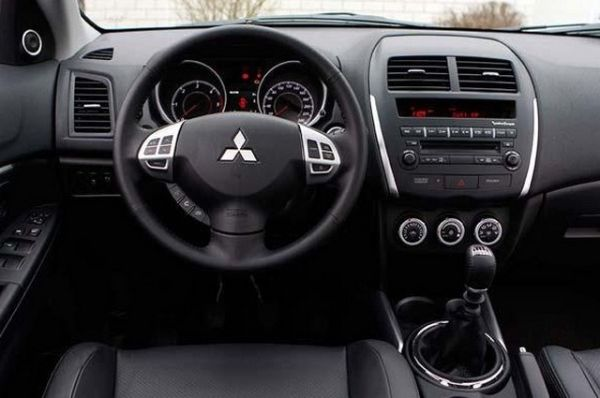 2015 - Mitsubishi ASX Hybrid Interior