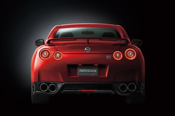 2015 - Nissan GTR Rear View