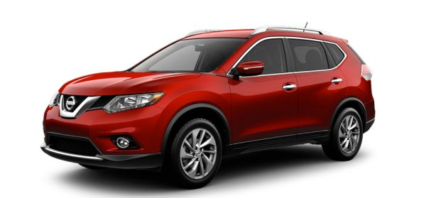 Nissan Rogue 2015  Side View