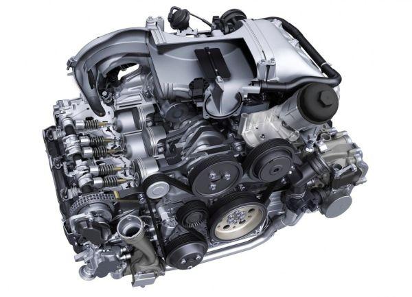 Porsche 911 Targa GTS Engine - 2015