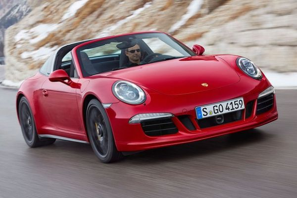 2015 -  Porsche 911 Targa GTS