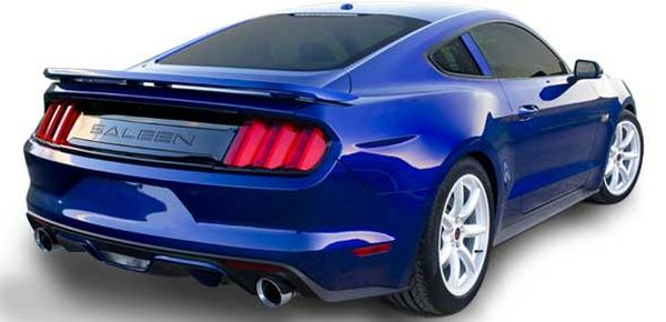 Saleen Mustang S302 Black Label 2015  Rear View