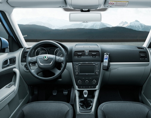 Interior and Exterior Features of 2015 Skoda Yeti
