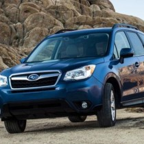 2015 - Subaru Forester front